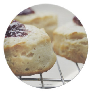 Food, Food And Drink, Buttermilk, Biscuit, Plate