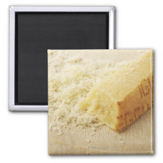 Food, Food And Drink, Cheese, Parmesan, Grated, Square Magnet