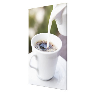 Food, Food And Drink, Coffee, Cream, Creamer, Stretched Canvas Prints