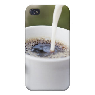 Food, Food And Drink, Coffee, Cream, Creamer, iPhone 4/4S Cover