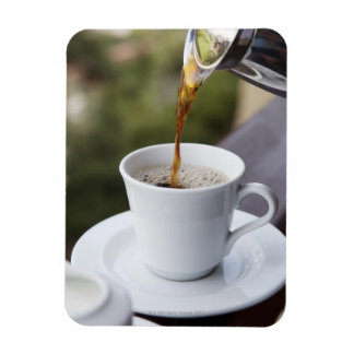 Food, Food And Drink, Coffee, Pour, Carafe, Rectangular Photo Magnet