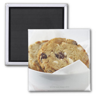 Food, Food And Drink, Cookie, Dessert, Cherry, Square Magnet