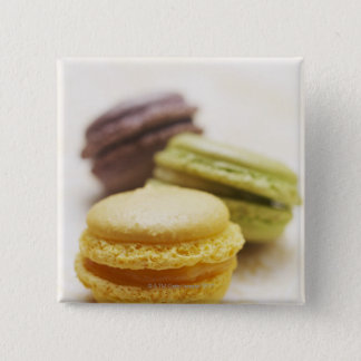 Food, Food And Drink, Dessert, Cookie, French, 15 Cm Square Badge