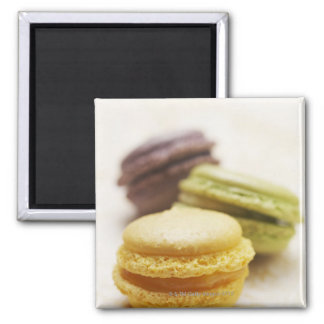 Food, Food And Drink, Dessert, Cookie, French, Square Magnet