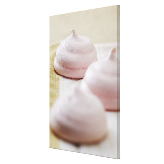 Food, Food And Drink, Strawberry, Merengue, Canvas Prints