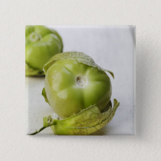 Food, Food And Drink, Tomatillo, Fruit, Mexican 15 Cm Square Badge