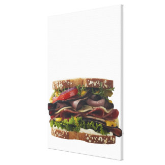 Food, Food And Drink, Wheat, Bread, Oat, Mayo, 2 Gallery Wrap Canvas