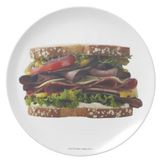 Food, Food And Drink, Wheat, Bread, Oat, Mayo, 2 Plate