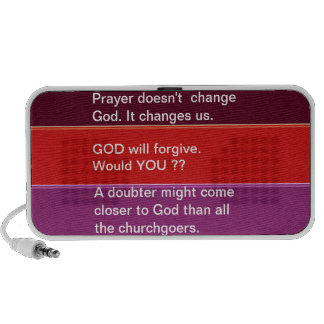 Food for thought : Practical Wisdom Words Laptop Speaker