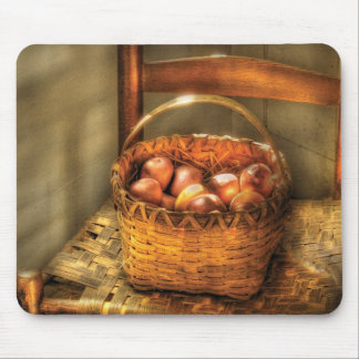 Food - Fresh Peaches Mouse Pad
