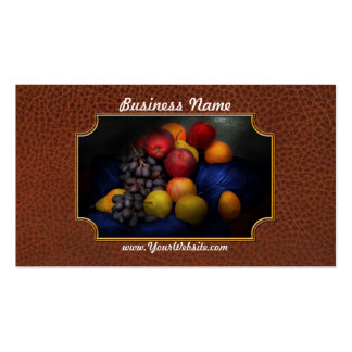 Food - Fruit - Fruit still life Double-Sided Standard Business Cards (Pack Of 100)