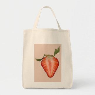 Food - Fruit - Slice of Strawberry Bag