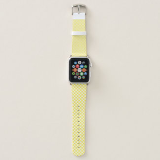 Food Fruit Yellow Lemon Pattern Apple Watch Band