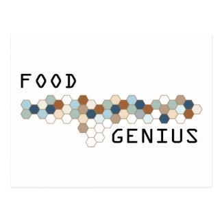 Food Genius Post Card