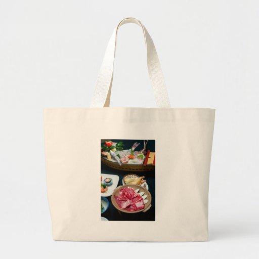 Food in Japan, Japanese Food Canvas Bag