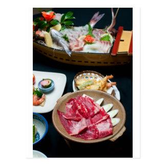Food in Japan, Japanese Food Post Card