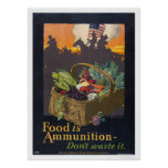 Food is Ammunition Poster