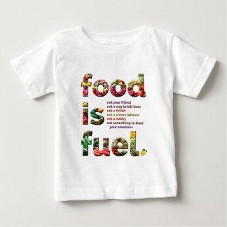 Food is Fuel Tee Shirt