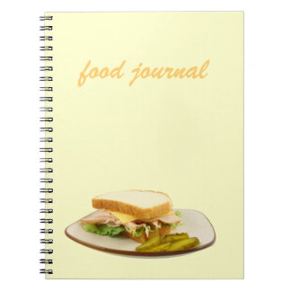 Food Journal Spiral Notebook