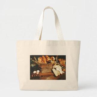 Food Large Tote Bag