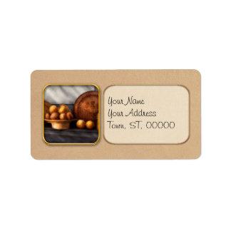 Food - Lemons - Winter spice Address Label