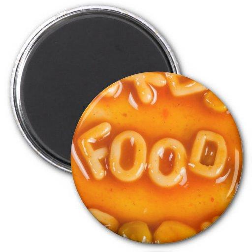 Food Refrigerator Magnets