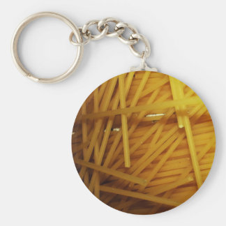 Food Noodles mhhhh Basic Round Button Key Ring