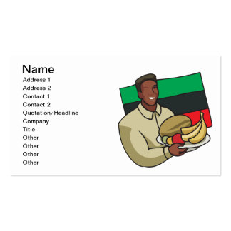 Food Offering Pack Of Standard Business Cards
