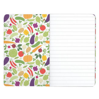 Food on a white background journal