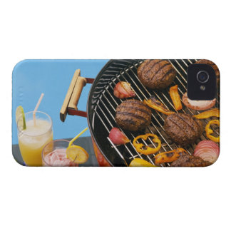 Food on grill iPhone 4 case