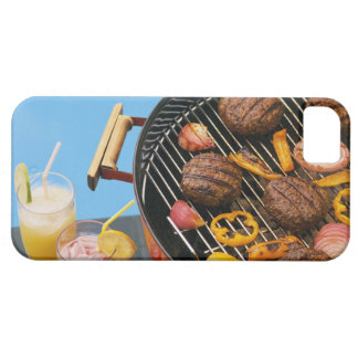 Food on grill iPhone 5 covers