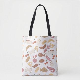 Food Pattern 2 2 Tote Bag