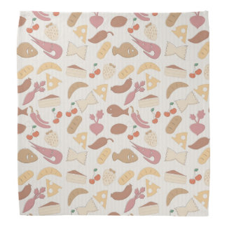 Food Pattern 2 Bandana