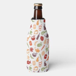 Food Pattern 2 Bottle Cooler