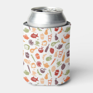 Food Pattern 2 Can Cooler