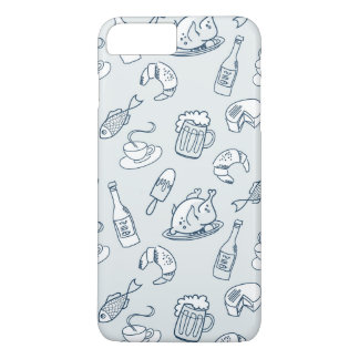 Food Pattern 2 iPhone 8 Plus/7 Plus Case