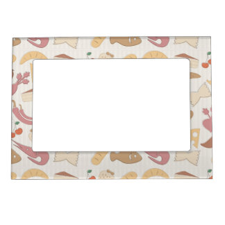 Food Pattern 2 Magnetic Frame