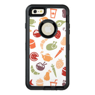 Food Pattern 2 OtterBox iPhone 6/6s Plus Case