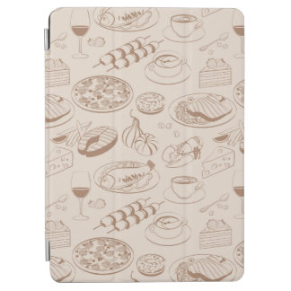 Food Pattern 3 2 iPad Air Cover