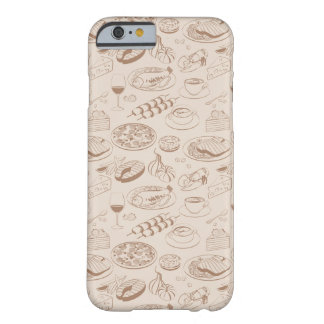 Food Pattern 3 Barely There iPhone 6 Case