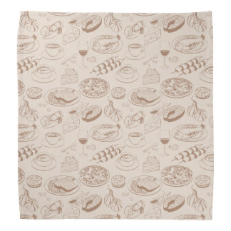 Food Pattern 3 Do-rags