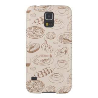 Food Pattern 3 Galaxy S5 Cover