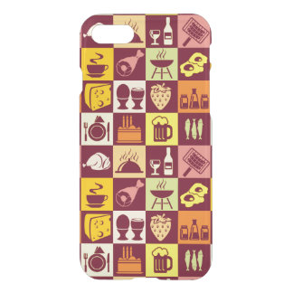 Food Pattern 3 iPhone 8/7 Case
