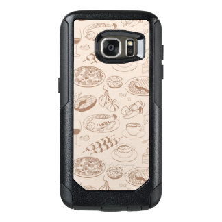 Food Pattern 3 OtterBox Samsung Galaxy S7 Case