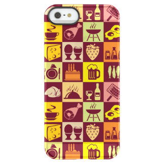 Food Pattern 3 Permafrost® iPhone SE/5/5s Case