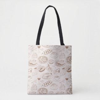 Food Pattern 3 Tote Bag