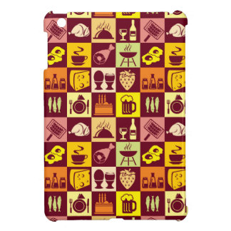 Food Pattern 4 Case For The iPad Mini