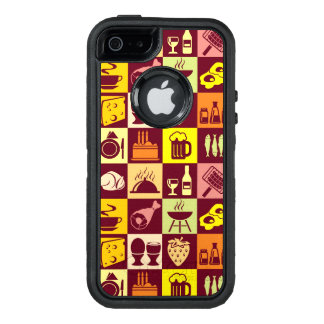 Food Pattern 4 OtterBox Defender iPhone Case