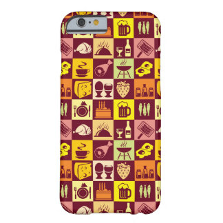 Food Pattern Barely There iPhone 6 Case