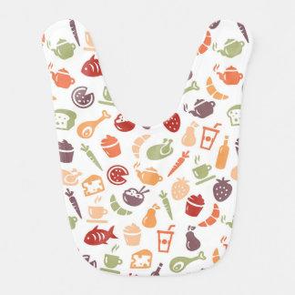 Food Pattern Bib